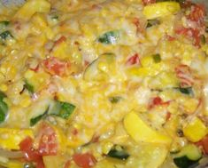 CALABACITAS-Mexican Squash: My childhood comfort food **This is one of my favorite Mexican sides; such a healthy alternative to rice and refried beans. To make it even a little lighter, go easy on the cheese or go without. Enjoy!