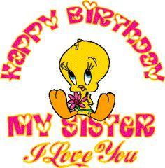 Tweety bird happy birthday comments