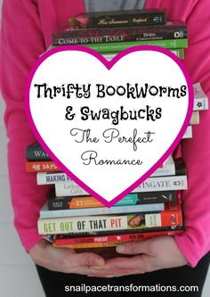 Do you love books but can't stand paying full price for them? Let Swagbucks pay for your book loving habits. Plus learn 5 ways to stretch your point earned gift cards to cover more books.