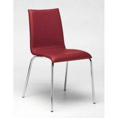 Silla Tafesa Zoom F. Silla con estructura en acero acabado cromo brillo alta calidad o lacado aluminio. Asiento y respaldo tapizado.