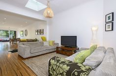 TV/ Living space Bean Bag Chair, Living Spaces, Bathroom, Tv, Furniture, Home Decor, Washroom, Decoration Home, Room Decor