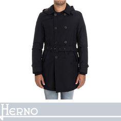 HERNO ピーコート HERNO ベルトを締めた後姿も美しいドレープで抜かりなく コート