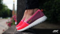 Nike wmns Roshe Run Slip #nike #roshe #rosherun #slip #womens #fashion #streetwear #sneaker
