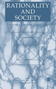 Rationality and Society: SAGE Journals Empirical Research, Quantitative Research, Political Science, Social Science, Sage Publications, Cognitive Psychology, Social Research, Gender Studies, Spirit Guides