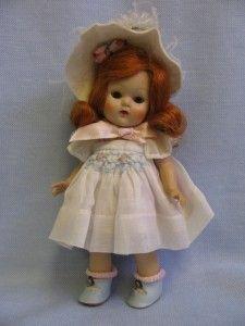 "8"" Strung Vintage Ginny 65 1952 Angela Red Head"