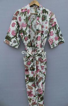 Long Kimono, Kimono Dress, Summer Outfits, Summer Dresses, Cotton Kimono, Women Sleeve, Collar Styles, Types Of Sleeves, Floral Prints