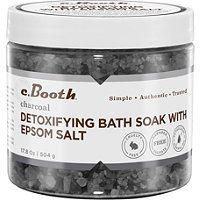 Booth Charcoal Detoxifying Bath Soak with Epsom Salt - C. Booth Charcoal Detoxifying Bath Soak with Epsom Salt Epsom Salt Foot Soak, Epsom Salt Bath, Diy Pedicure, Pedicure At Home, Epsom Salt For Hair, Salt Hair, Ux Design, Epsom Salt Cleanse, Diy Foot Soak