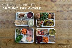 What's for Lunch? Photos of School Lunches Around the World