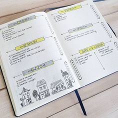 """277 Likes, 5 Comments - Kara (@oak.tree.journaling) on Instagram: """"Wrapping up another week in the bullet journal. Bullet journaling motivates me get things…"""""""