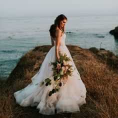 Coastal Elegant Cali Wedding