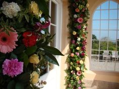 You can decorate the arch of the Loggia for your ceremony