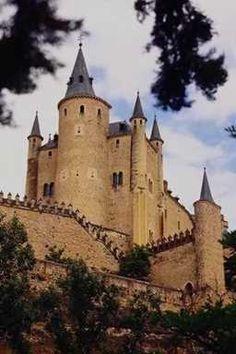 "On the ""Castles of Europe Tour"" - Alcazar, Spain"