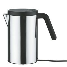 Wasserkocher Hot.it 80 cl, 80 cl - stahl  & schwarz von Alessi finden Sie bei Made In Design, Ihrem Online Shop für Designermöbel, Leuchten und Dekoration.