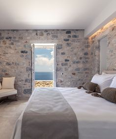 Aria Estate, Limeni, Peloponnese, Greece - book through i-escape.com || Immaculate B&B suites with breathtaking sea views, set amongst the rugged landscape of the remote Mani Peninsula