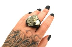 PYRITE: Size 8.5 Ring