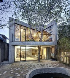 Tea House by Archi-Union Architects. Location: #YangpuDistrict #Shanghai #China #architectdesigne Tag your friends. by architectdesigne