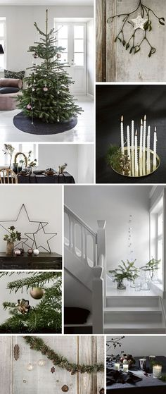 Holiday decor inspiration | Nordicdesign #christmas #decor #holidaydecor