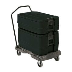 Rubbermaid FG940700BLA Black CaterMax Insulated 4 Pan Carrier (FG940700)
