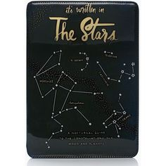 Kate Spade It's Written In The Stars Ipad Air Hardcase ($52) ❤ liked on Polyvore featuring accessories, tech accessories, multi and kate spade