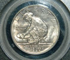 1925 S Commemorative Californian  MS63 by CortezCoins on Etsy, $375.00