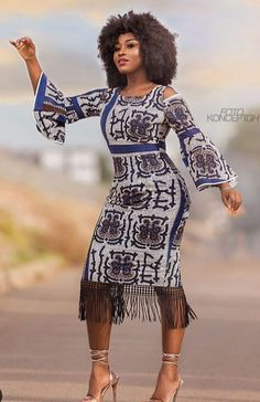 The complete collection of Exotic Ankara Gown Styles for beautiful ladies in Nigeria. These are the ideal ankara gowns African Print Dresses, African Fashion Dresses, African Dress, African Fabric, African Prints, Ankara Fashion, Ghanaian Fashion, African Fashion Designers, African Print Fashion
