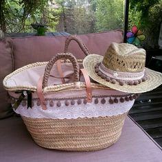 Sombrero madroños marron a conjunto capazo annacivis@hotmail.com