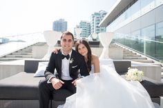 A Black and White Masterpiece At Malaparte Terrace Toronto Wedding, Event Decor, Terrace, Boston, Wedding Photography, The Incredibles, Black And White, Stylish, Couples