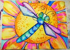 smART Class: Watercolor Insects