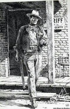 (JW) John Wayne (Art)