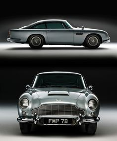 Aston Martin Silver-birch DB5_1964; Bond car