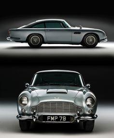 Aston Martin Silver-birch DB5_1964; Bond car