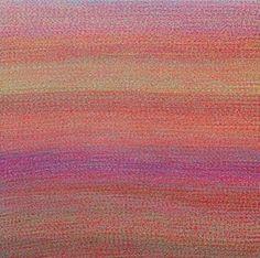 Ana Pérez Ventura. Étude nº 187, 2014. Acrylic on canvas. 200 x 200 cm.