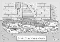 Cartoon by Kim Warp, published by the New Yorker.