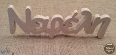 Ξύλινα ονόματα απο MDF 1,6cm #woodennames #decoupage #gifts #mdf