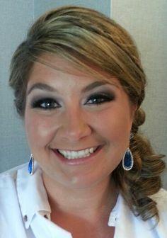 Smokey eye bridesmaid June 2014 Boston, ma makeup artist Tara