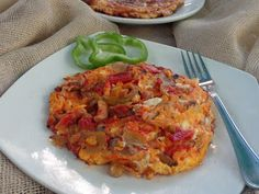Egg Dish, Greek Recipes, Cauliflower, Food And Drink, Eggs, Dishes, Vegetables, Cauliflowers, Tablewares