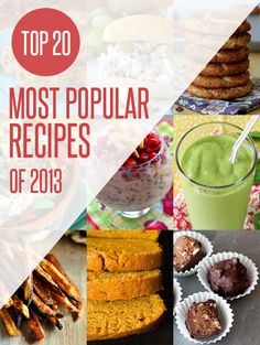 Top 20 Most Popular Recipes of 2013 on NoshOn.It