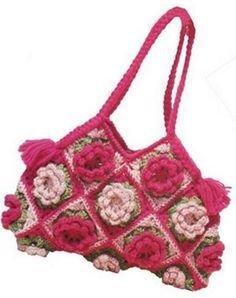 crocheted bag gehaakte tas k3.jpg (386×488)