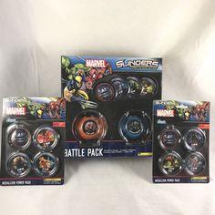 Marvel Slingers Lot 2-Player Battle Game Set Medallion Power Packs 2011 Rare NIB  | eBay