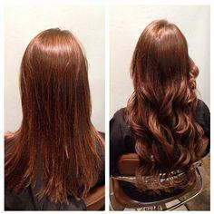A transformacao de hoje mostra a estislista de cabelos Toni Marie Lee, usando extensao de cabelhos Hotheads cor 33 em comprimentos de 40 a 50cm. Se voce quer ser mostrada assegure se de anotar sua foto de transformacao em #HotheadsBrasil
