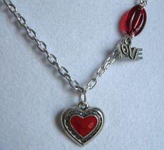 BE MY VALENTINE necklace. Still time before Valentine's!! $22.00. http://www.etsy.com/listing/121512068/be-my-valentine?#