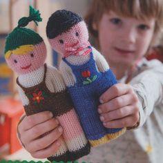 Bauer und Bäuerin - #Bauer #Bäuerin #und Knitted Doll Patterns, Baby Boy Knitting Patterns, Knitted Dolls, Crochet Dolls, Baby Knitting, Knit Crochet, Crochet Patterns, Knitting Loom Dolls, Yarn Dolls