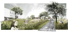DELVA Landscape Architects & Plusoffice Architects win Leiemeersen competition