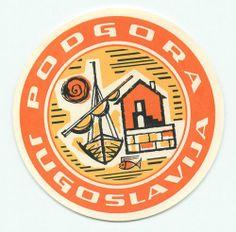 Podgora Jugoslavia Yugoslavia Vintage Hotel Luggage Label | eBay