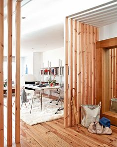 love this idea for partitions