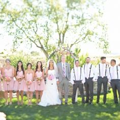 Pink Wedding Inspiration!! A collection of shades of pink ideas for your wedding!  Photos by Jessica Frey Photography