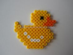 Duck Hama Beads by Esther