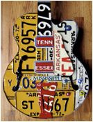 License plate guitar by Peter Geiger =D