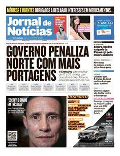 """Se ainda não o fez, espreite a capa do Jornal de Notícias de hoje. Através do QR Code nela contido, poderá aceder à entrevista exclusiva JN do """"falso estripador de Lisboa""""."""
