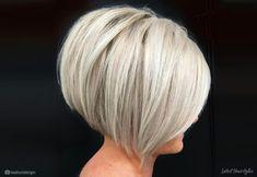 Asymmetrical Bob Haircuts, Inverted Bob Hairstyles, Short Bob Haircuts, Medium Hairstyles, Braided Hairstyles, Layered Haircuts, Short Stacked Hairstyles, Short Inverted Bob, Hairstyles 2018